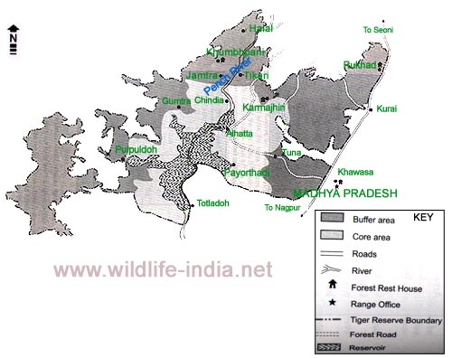 Pench India  City new picture : ... Pench Madhya Pradesh,Madhya Pradesh Pench Map,Pench Maps,Pench Maps